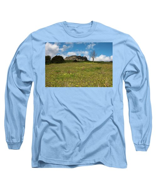 The Three Finger Mountain Long Sleeve T-Shirt