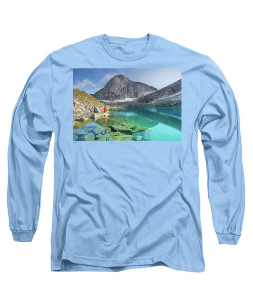 The Turquoise Lake Long Sleeve T-Shirt