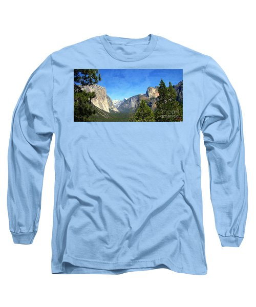 The Valley Of Inspiration-yosemite Long Sleeve T-Shirt by Glenn McCarthy Art and Photography
