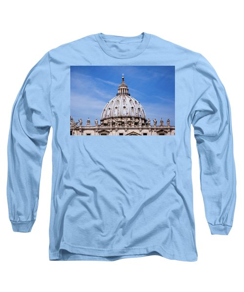 The Vatican Long Sleeve T-Shirt by Nick  Shirghio