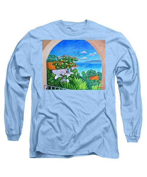 The View From A Window Long Sleeve T-Shirt