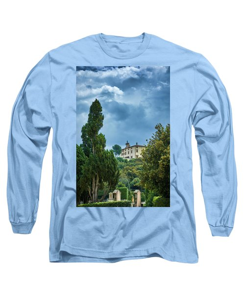 The Views From The Boboli Gardens Long Sleeve T-Shirt