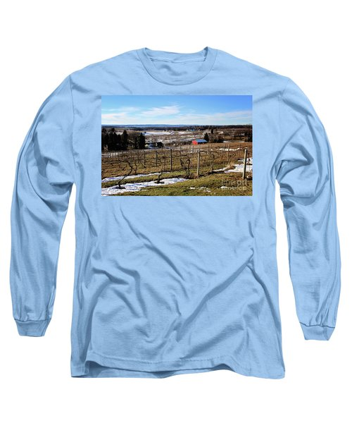 The Vineyard On Old Mission Long Sleeve T-Shirt