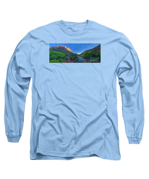 The Watchman Zion National Park Long Sleeve T-Shirt