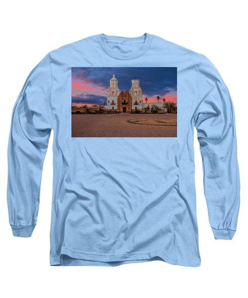 The White Dove Of The Desert Long Sleeve T-Shirt