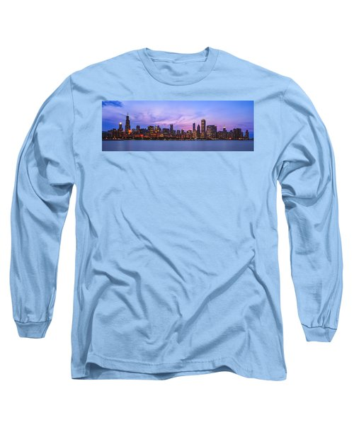 The Windy City Long Sleeve T-Shirt by Scott Norris