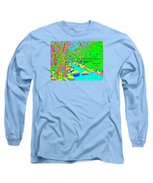 This World Is But A Canvas Long Sleeve T-Shirt by Deborah Dendler