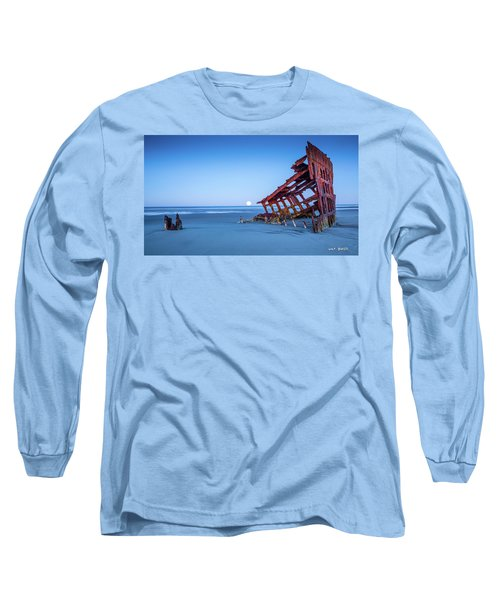 The Wreck Of The Peter Iredale Long Sleeve T-Shirt