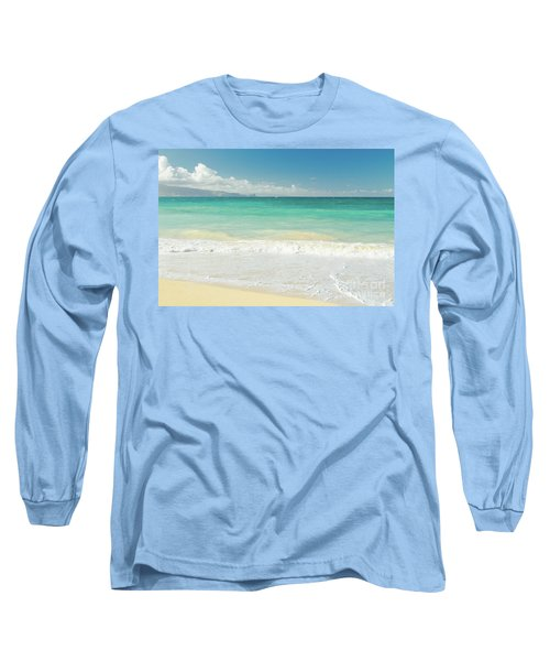 Long Sleeve T-Shirt featuring the photograph This Paradise Life by Sharon Mau
