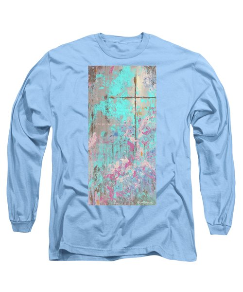 This Side Of The Cross Long Sleeve T-Shirt by Karen Kennedy Chatham