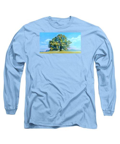 Thomas Jefferson's White Oak Tree On The Way To James Madison's For Afternoon Tea Long Sleeve T-Shirt