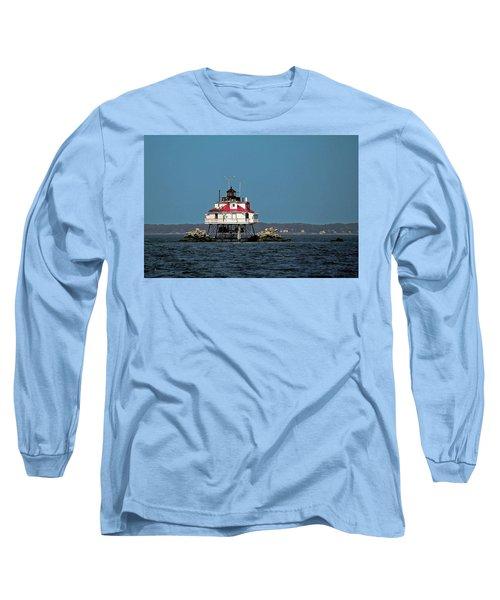 Thomas Point Shoal Light Long Sleeve T-Shirt