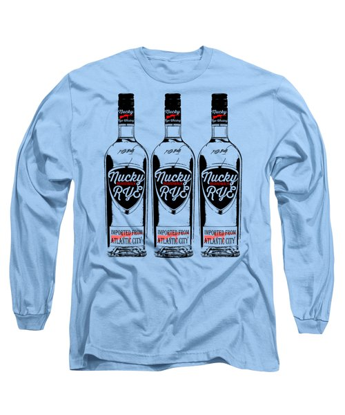 Three Bottles Of Nucky Rye Tee Long Sleeve T-Shirt