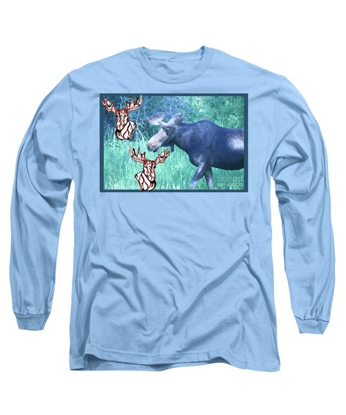 Three Moose Long Sleeve T-Shirt