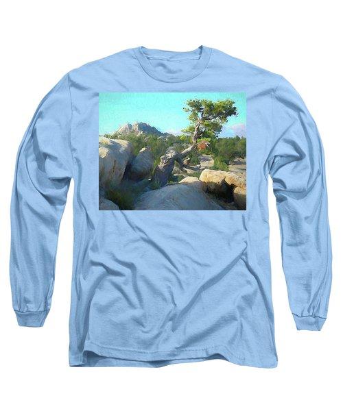Three Peaks View Long Sleeve T-Shirt