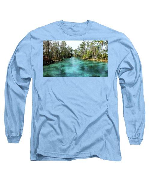 Three Sisters Springs Long View Long Sleeve T-Shirt