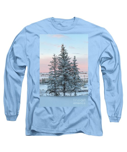 Three Trees Long Sleeve T-Shirt by Ronda Kimbrow