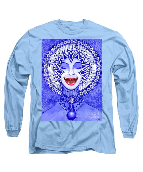 Throat Chakra Long Sleeve T-Shirt