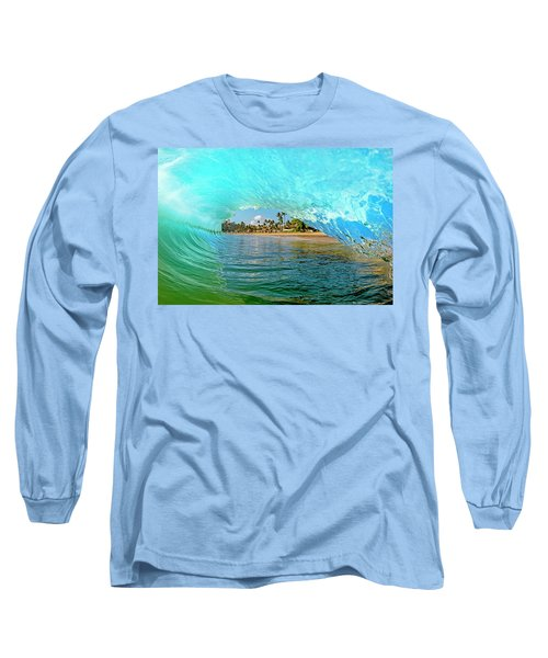 Thru The Looking Glass Long Sleeve T-Shirt by James Roemmling