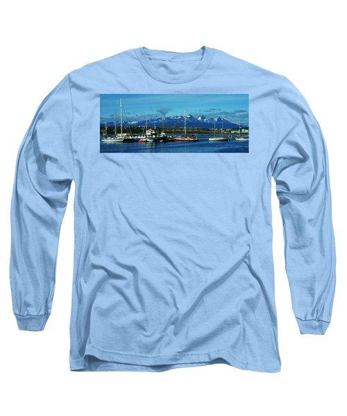 Tierra Del Fuego Long Sleeve T-Shirt by Juergen Weiss