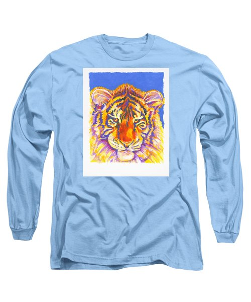 Long Sleeve T-Shirt featuring the painting Tiger by Stephen Anderson