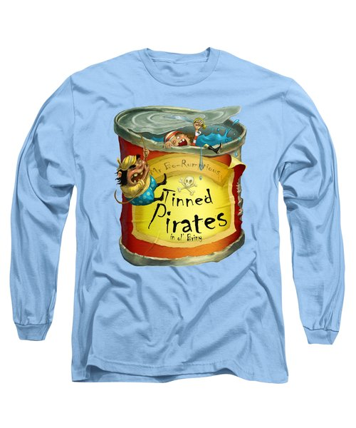 Tinned Pirates Long Sleeve T-Shirt by Andy Catling