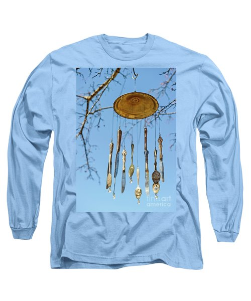 Long Sleeve T-Shirt featuring the photograph Tintinnabulation.. by Nina Stavlund