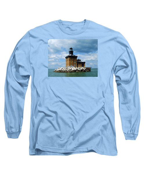 Long Sleeve T-Shirt featuring the photograph Toledo Harbor Lighthouse by Michiale Schneider