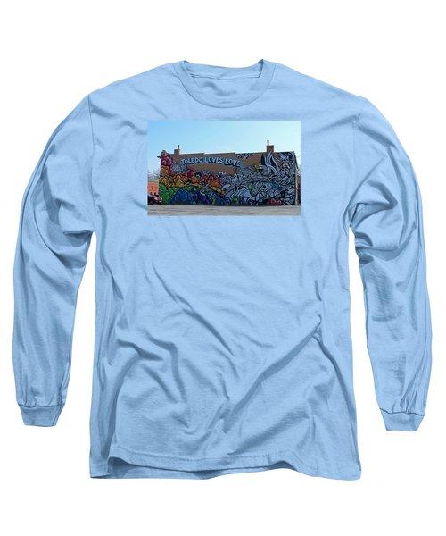 Toledo Loves Love Long Sleeve T-Shirt