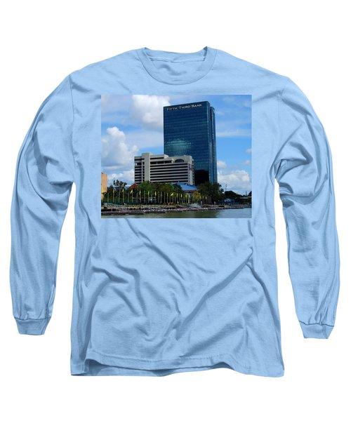 Toledo's Waterfront I Long Sleeve T-Shirt