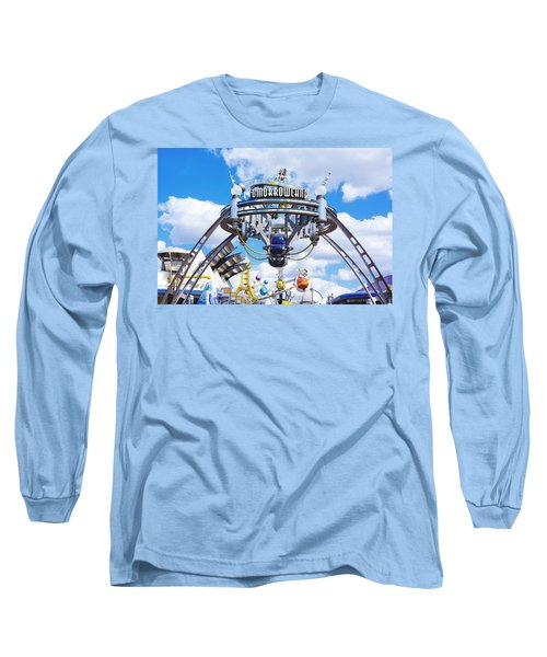Long Sleeve T-Shirt featuring the photograph Tomorrowland by Greg Fortier