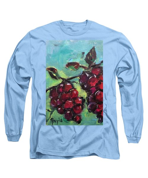 Tomorrows Pinot Noir Long Sleeve T-Shirt