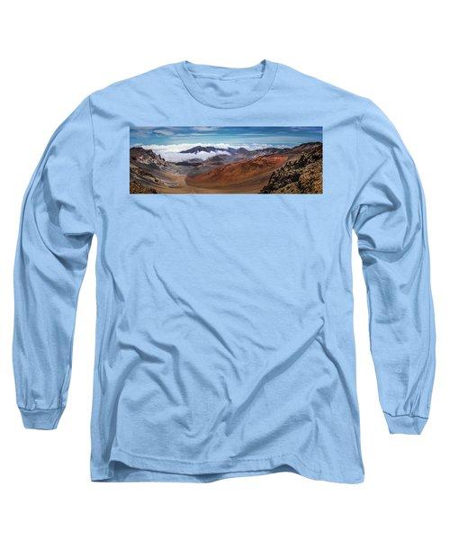 Top Of Haleakala Crater Long Sleeve T-Shirt
