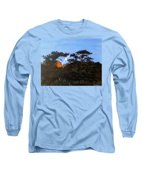 Torrey Pines In The Morning Long Sleeve T-Shirt