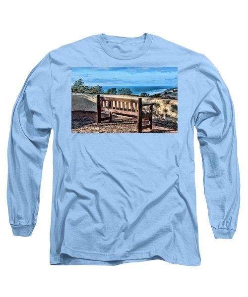 Torrey Pines View Long Sleeve T-Shirt by Daniel Hebard