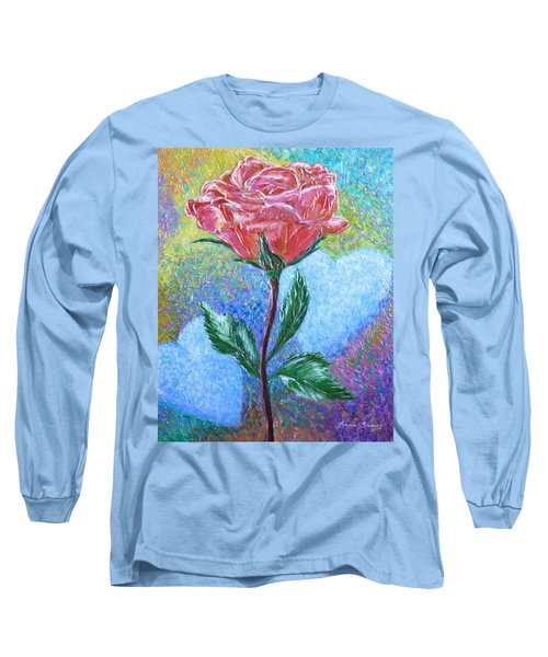 Touched By A Rose Long Sleeve T-Shirt