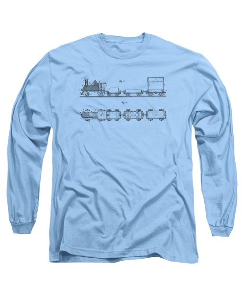 Toy Train Tee Long Sleeve T-Shirt by Edward Fielding