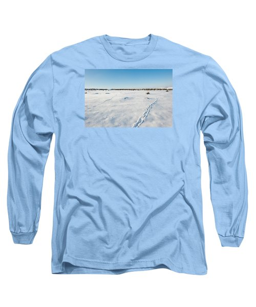 Tracks In The Snow Long Sleeve T-Shirt