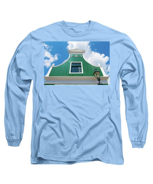 Traditional Dutch House Long Sleeve T-Shirt by Hans Engbers
