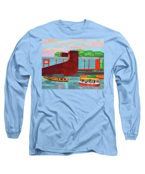 Train Over The New River Long Sleeve T-Shirt