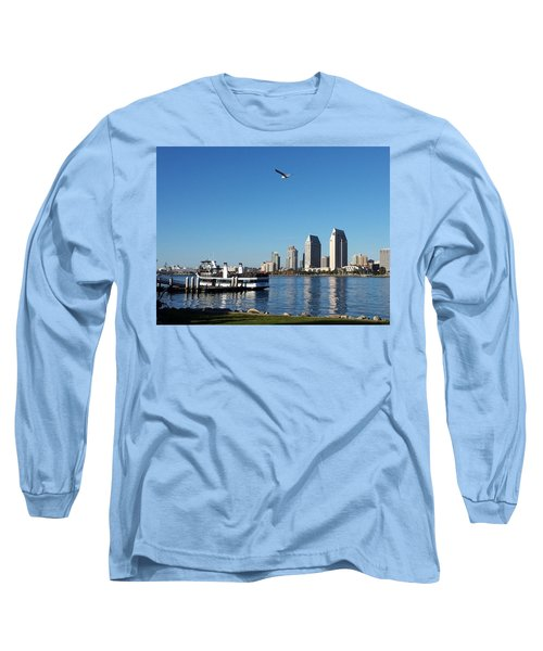 Tranquility By The Bay Long Sleeve T-Shirt