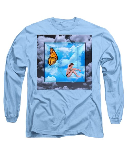 Trapped Butterfly Long Sleeve T-Shirt