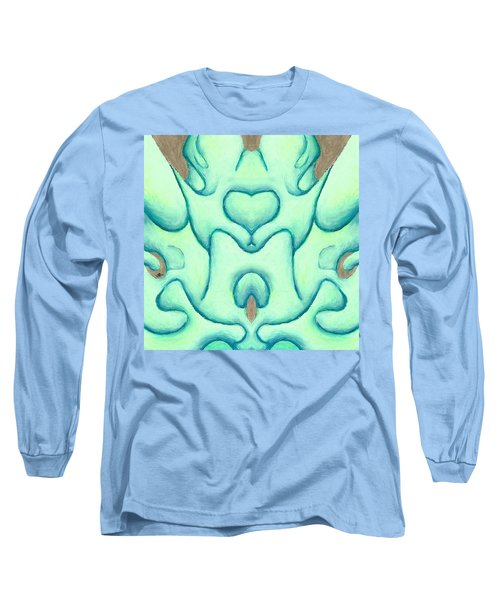 Travels Of The Mind Long Sleeve T-Shirt by Versel Reid