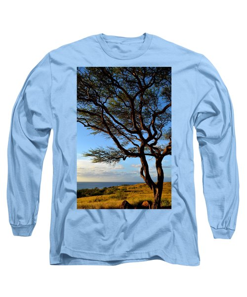 Tree At Lapakahi State Historical Park Long Sleeve T-Shirt