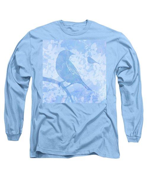 Tree Birds I Long Sleeve T-Shirt