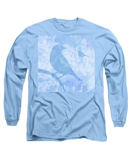 Tree Birds I Long Sleeve T-Shirt