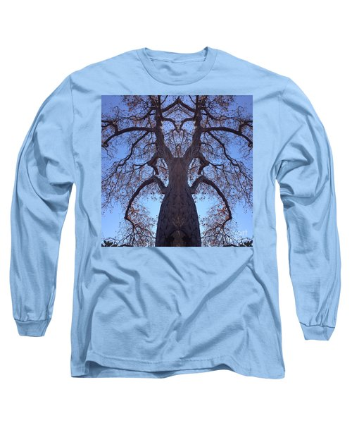 Long Sleeve T-Shirt featuring the photograph Tree Creature by Nora Boghossian