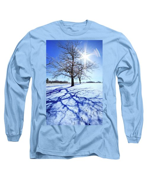 Long Sleeve T-Shirt featuring the photograph Tree Light by Phil Koch