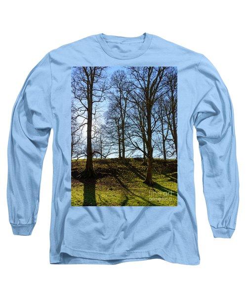 Tree Silhouettes Long Sleeve T-Shirt