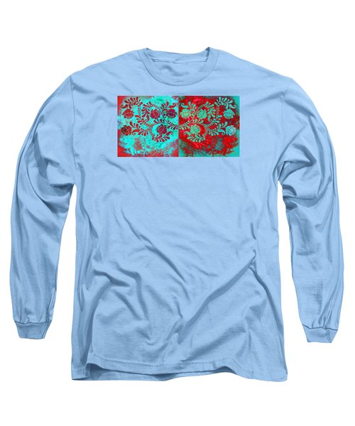 Long Sleeve T-Shirt featuring the digital art Trip The Night Fantastic Together by Angelina Vick